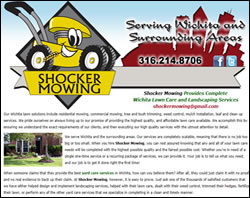 Shocker Mowing